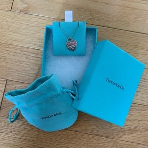 Return to Tiffany- Heart Tag Pendent